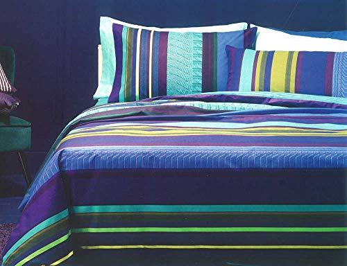 Bassetti - Juego de sábanas de una plaza y media Relief B1 cm 180 x 280 cm
