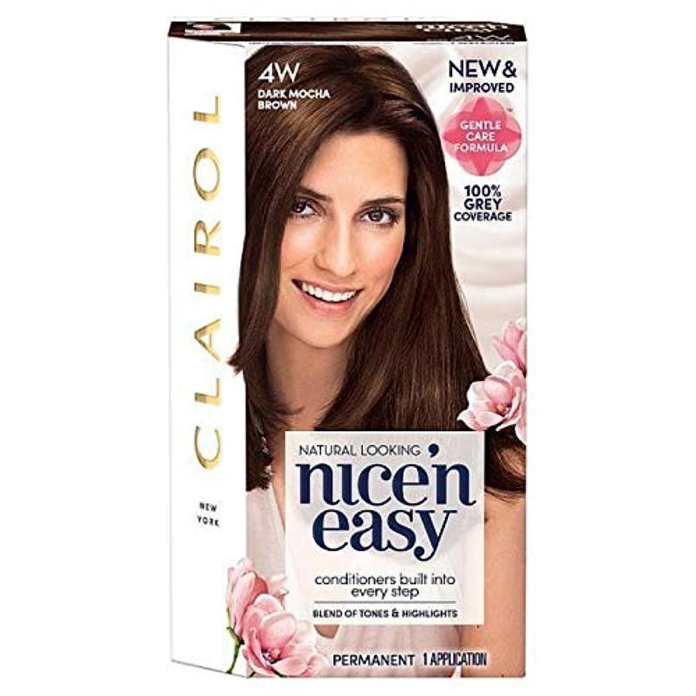 間に合わせ案件学習者[Nice'n Easy] 簡単に4ワットダークモカブラウンNice'N - Nice'n Easy 4W Dark Mocha Brown [並行輸入品]