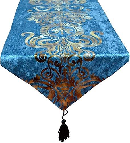 Corredor de mesa Tabla Runner - Luz de lujo Tabla Corredor Europeo Estilo Europeo Americano Nórdico Mesa de comedor Nórdica de alta gama Bandera de mesa de café Mantel Cama de cama Toalla de toalla de