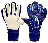 HO Soccer Clone Supremo II Negative Pacific Blue Guantes De Portero, Unisex Adulto, Azul/Blanco, 7
