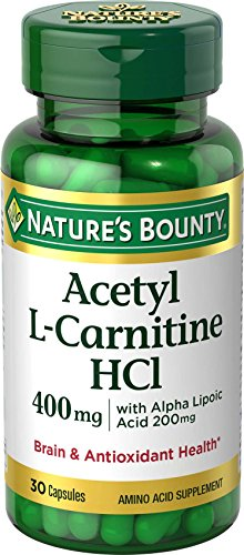 Nature's Bounty® L-Carnitine 400 mg & ALA 200 mg, 30 Capsules