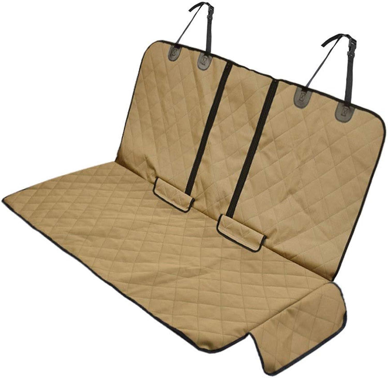 Candtong Car pet mat car waterproof Oxford cloth mat dog out rear car mat car antidirty waterproof antidirty anticatch car pet mat