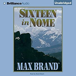 Sixteen in Nome audiobook cover art