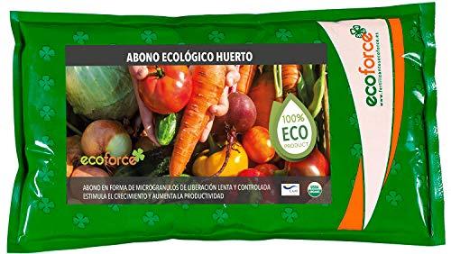 CULTIVERS Abono Ecológico Huerto de 1,5 Kg. Fertilizante de