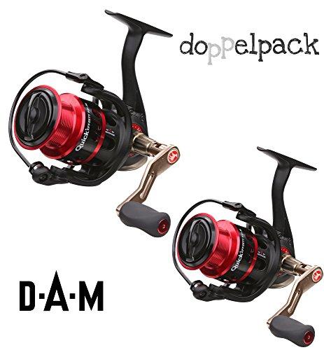 2 Stk. DAM Quick FZ1 820 FD, Spinnrolle mit Frontbremse (Doppelpack)