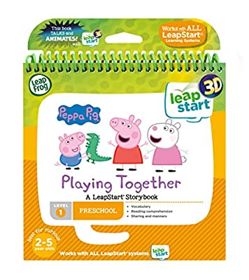 LeapFrog Leapstart Nursery: Peppa Pig Story Book (3D Enhanced) by Vtech Electronics