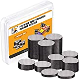 Tungsten Weights Pinewood Derby Weights 2.625 Ounce 3/8 Inch Cylinder Weights Car Incremental Weights, 10 Pieces, 4 Size