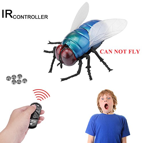 MYCreator Realistisches ferngesteuertes Spielzeug, Infrarot-Fernbedienung, Fake Giant RC Neuheit Spielzeug Modell Strich Insekten Witz Gruselige Trick Bugs für Party-Gastgeschenke
