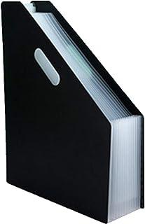 MHUI Sac d'organe Bureau fichier Rack étagère Pliable Vertical Dossier fichier boîte de Rangement fichier Panier Bureau St...