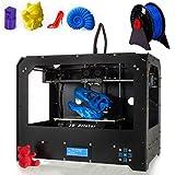 Schwarz 3D Drucker, Dual-Extruder Desktop Rapid Prototyping - 2