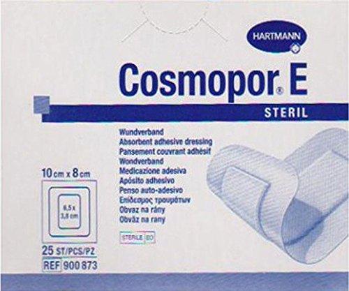 Hartmann Cosmopor E Apósitos, 10x 8cm, 25unidades