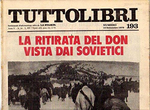 Tuttolibri n. 193 settembre 1979 Borges, Cergoly, Elena Croce, Krokodil