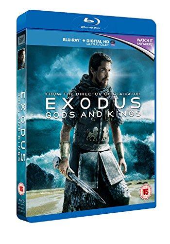 Exodus - Gods And Kings [Blu-ray] [2014] [Region Free]