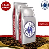 Caffe Borbone Beans (Red) - Whole Bean Coffee 2-Pack Bundle (Includes TWO 2.2-Pound Bags)