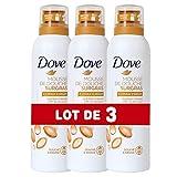 Dove Gel Douche Mousse Surgras à l'Huile d'Argan, Parfum Oriental et Boisé, Formule Testée Dermatologiquement, Lot de 3x200ml)