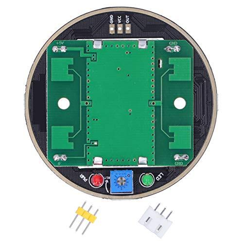 Sensor de Radar, módulo de inducción de Radar de microondas inalámbrico HB100 Módulo de Sensor de Movimiento de 10,525 GHz, Distancia de detección de 2-16 Metros, 5 V, 60 mA