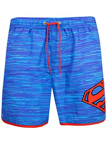 DC Comics Herren Superman Badeshorts Mehrfarbig X-Large