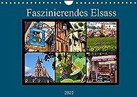 Faszinierendes Elsass (Wandkalender 2022 DIN A4 quer): Ein Stueck Frankreich von seiner schoensten Seite (Monatskalender, 14 Seiten )
