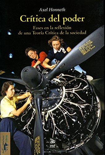Crítica del poder: Fases en la reflexión de una Teoría Crítica de la sociedad (Teoría y crítica nº 23) (Spanish Edition)