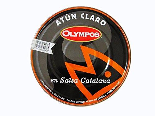 Atún claro en escabeche rojo o salsa catalana 1.8 kg.