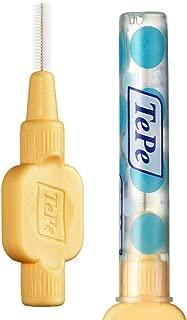 TEPE Extra Soft Interdental Brush Cleaners – Dental Brushes Between Teeth 6 Pk, Orange