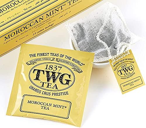 TWG Singapore Luxury Teas - Moroccan Spasm price sewn 100 Mint Tea Hand pu Popular