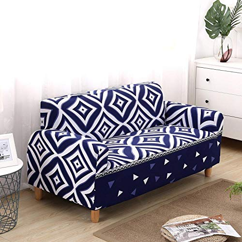 Anti-mijt & anti-rimpel bankhoes, geometrisch patroon Stretch Cover, stof Stretch Sofa Cover, Armchair Cover Stretch Sofa Cover, comfortabel en duurzaam, stuur kussensloop