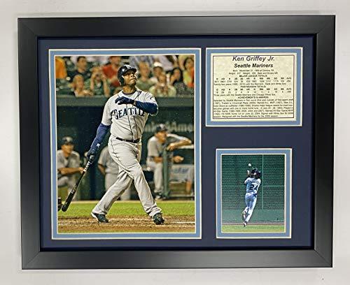 "Legends Never Die ""Ken Griffey Jr. Mariners Framed Photo Collage, 11 x 14-Inch"