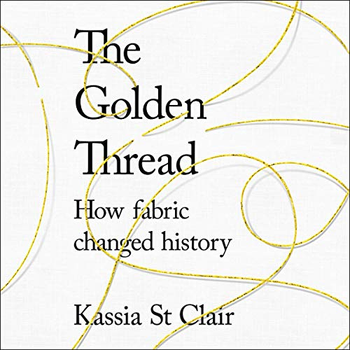 The Golden Thread audiobook cover art