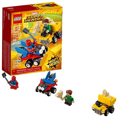 Marvel Super Heroes Mighty Micros: Scarlet Spider vs. Sandman  Building Kit (89 Piece) - LEGO 76089