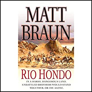 Rio Hondo audiobook cover art