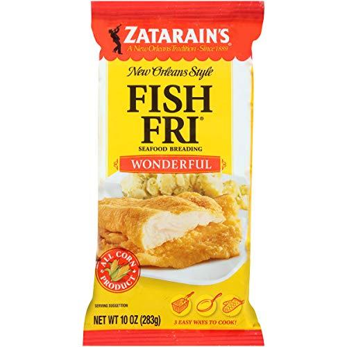 Zatarain's Wonder Fish Fri Seafood Breading, 10 oz (Pack of 12)
