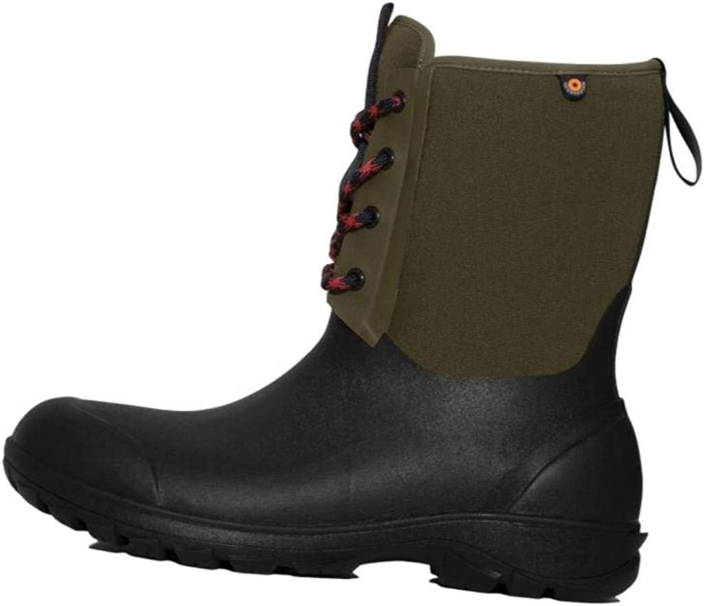 BOGS Men's Sauvie Waterproof Shoe Snow Rain 100% quality free warranty