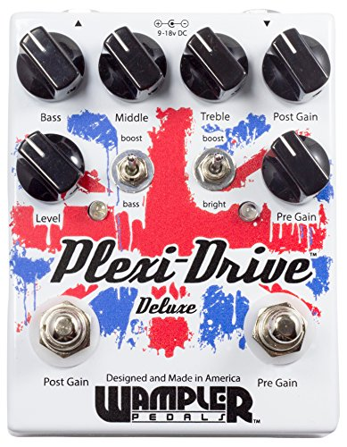 Wampler EQ Effects Pedal, Plexi-Drive Deluxe Overdrive