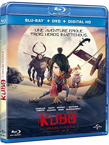 Kubo et l'armure magique [Blu-ray] [FR Import]
