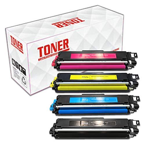 ASPORS TN243 TN247 4 Cartuchos de tóner compatibles para Brother DCP-L3510CDW DCP-L3550CDW HL-L3210CW HL-L3230CDW HL-L3270CDW MFC-L3710CW MFC-L3730CDN Impresora