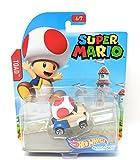 hot Wheels Super Mario Character Cars Toad Vehicle 6/7