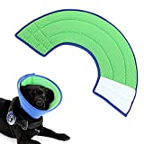 Vetoo Recovery E Collar for Pet Dogs Cats Rabbits, Soft and Breathable Mesh Cone, Protective for Quicker Healing Anti-Bite Anti-Lick Easy Eat and Drink, Blue