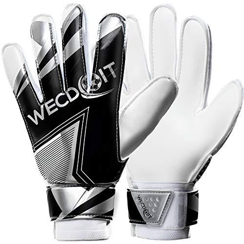 Wuut Soccer Goalie Gloves,Strong Grip Shockproof Non-Slip...