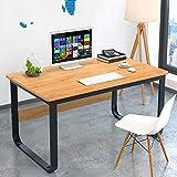 JiaQi Computer Schreibtisch Mit Stuhl,Home Office Laptop-Tisch,rechteckige Desk Schreibtisch...