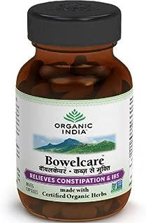 Organic India Bowel Care 60 Capsules - Pure Veg Capsules