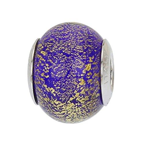 GlassOfVenice - Abalorio de cristal de Murano, plata de ley, diseño de...