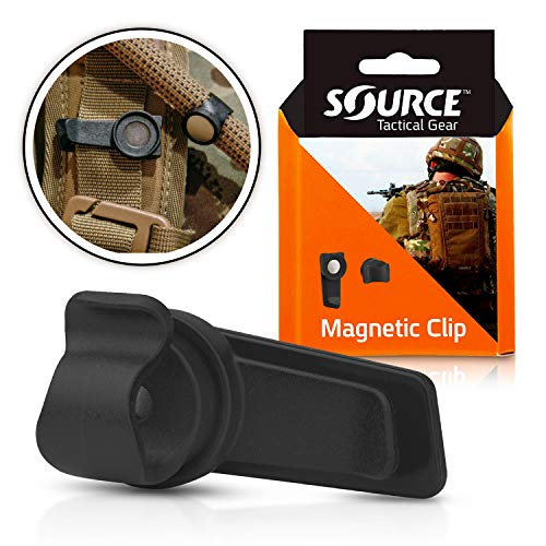 Source Unisex's Magnetic Clip Hydration Accessory, Black, One Size