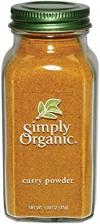 Simply Organic Curry Powder Certified Organic, 3-Ounce Bottles (Pack of 3)