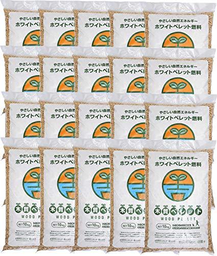 岩国再生エネルギー ホワイトペレット 200kg (10kg×20袋)