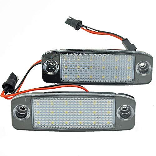2 Stück Auto LED Nummernschild  Kennzeichenbeleuchtung für Ki a Sportage 2011 ~ für Sonata 10 10~13 für Sonata YF 10MY 2010~2013 GF 10