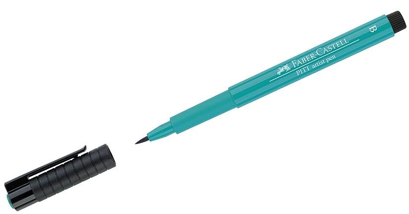 Faber-Castell Pitt Artist Brush Pen Brush Tipped - Cobalt Green (156)