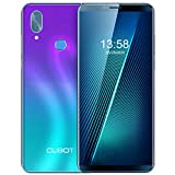 Unlocked Smartphone CUBOT X19 4GB RAM+64GB Cell Phone, 4000mAh, Dual 4G SIM, 5.93 inch FHD Display, Android 9.0 Pie, no Bloatware, T-Mobile, Face ID, Fingerprint, Gradient