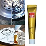 3PCS Fixini All Metal Polishing Paste The Ultimate Stainless Steel Ceramic Watch, Pasta de limpieza, Pasta de limpieza de acero inoxidable Un potente limpiador para accesorios de cocina