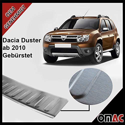 Preisvergleich Produktbild Duster Ladentenschutz Abntung Stoàstange hinten Gebürstet Edelstahl